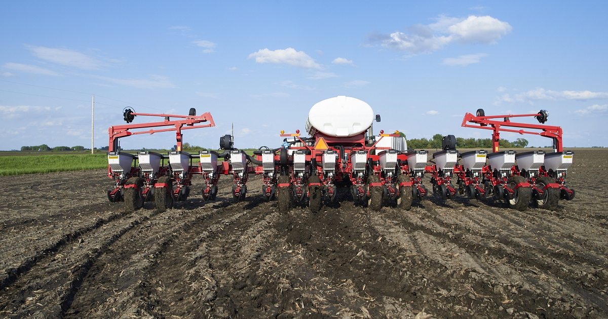 this agronomic image shows a planter.